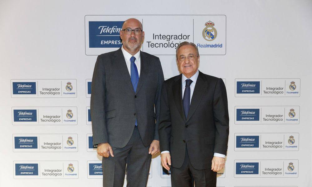 Telefónica será integrador tecnológico del Real Madrid hasta 2023
