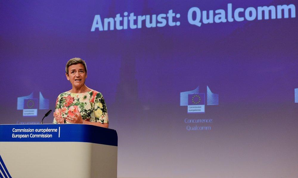 La Unión Europea multa a Qualcomm con 242 millones por abuso de posición dominante