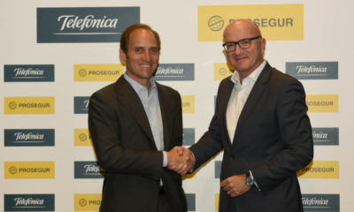 Telefónica se queda con el 50% del negocio de alarmas de Prosegur