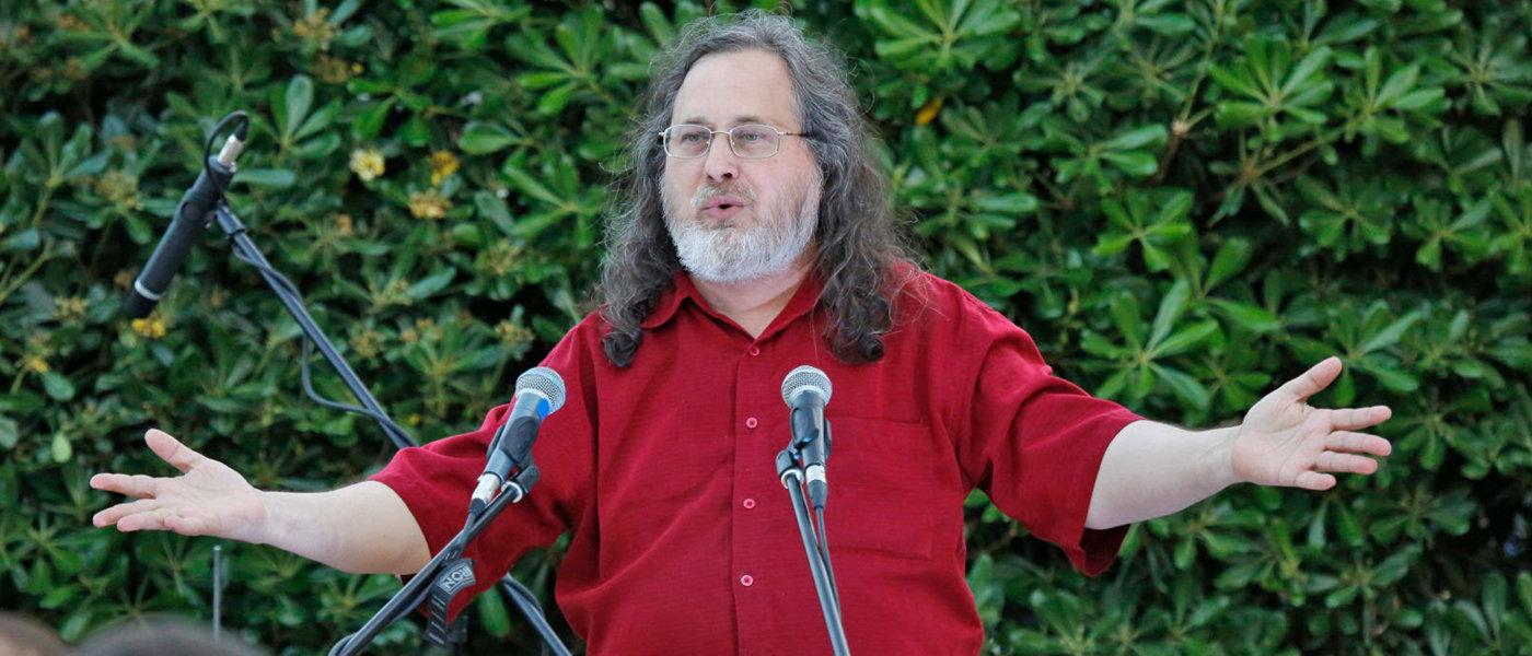 Richard Stallman y Microsoft