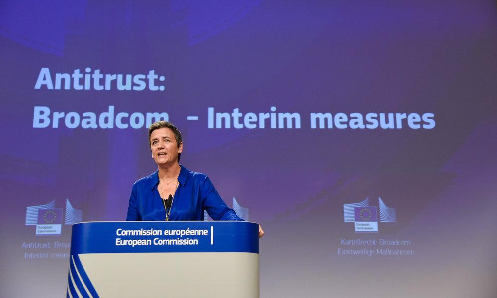 Broadcom tendrá que acabar con sus cláusulas de exclusividad mientras la UE la investiga