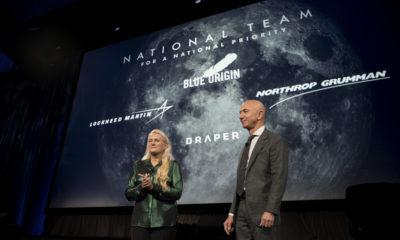 Jeff Bezos anuncia que Blue Origin desarrollará con otras tres empresas un módulo lunar
