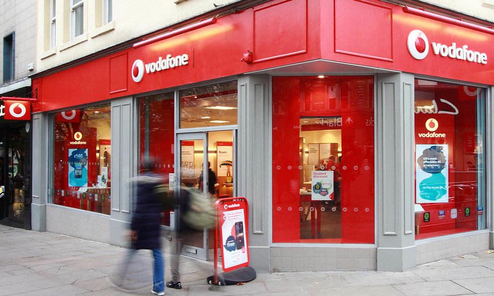 Vodafone cerrará el 15% de sus tiendas en Europa