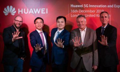 Huawei abre un centro de innovación en 5G en Londres
