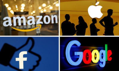Investigan a Amazon, Apple, Facebook, Microsoft y Google por adquisiciones no informadas