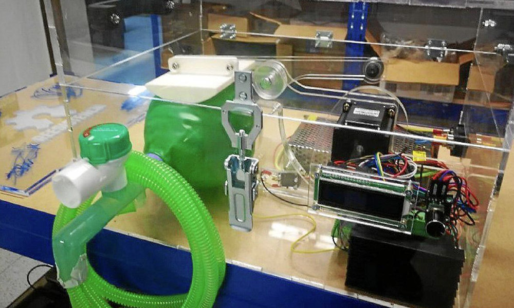 Respiradores 3D