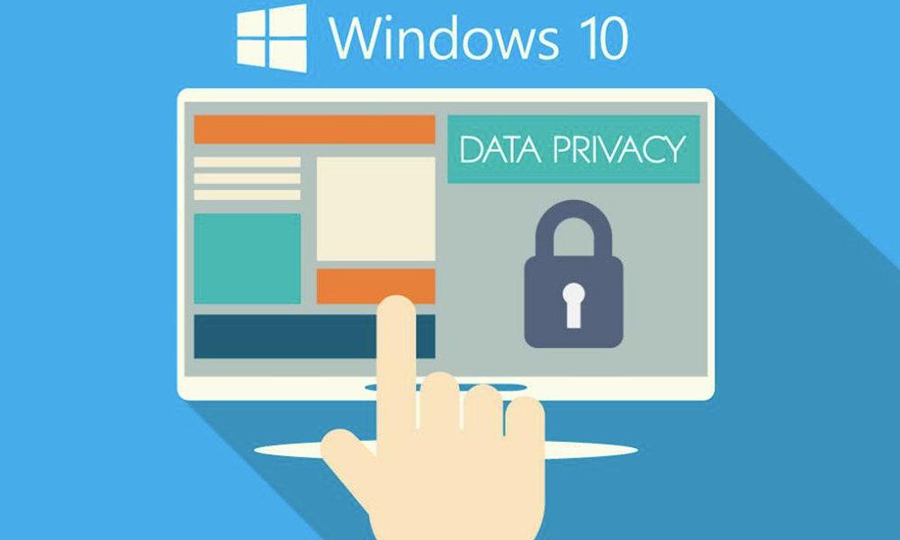recopilación de datos de Windows 10