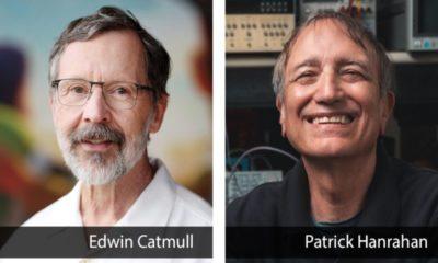 Dos pioneros de Pixar, Edwin Catmull y Patrick Hanrahan, reciben el Premio Turing