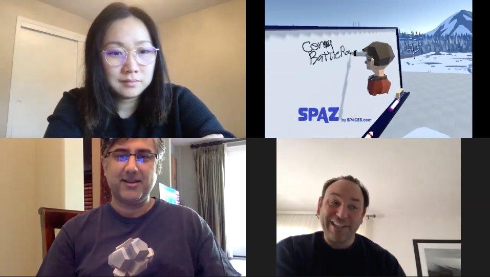 Spaces, una app que deja usar la realidad virtual en reuniones con Zoom, Skype o Hangouts
