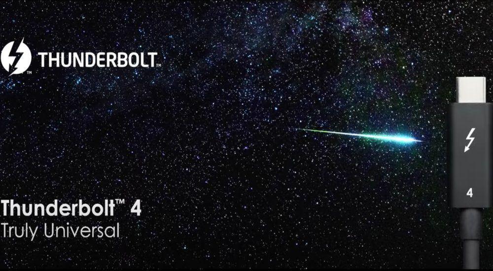 Intel presenta Thunderbolt 4, que será compatible con USB 4.0
