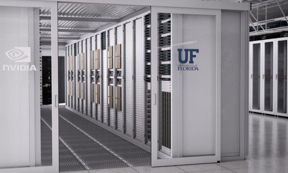 Nvidia y la Universidad de Florida desarrollarán el superordenador con IA más rápido del mundo académico