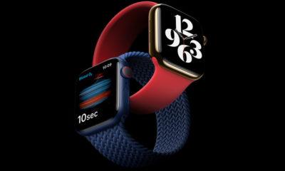 El Apple Watch 6 incorpora un medidor del nivel de oxígeno en la sangre