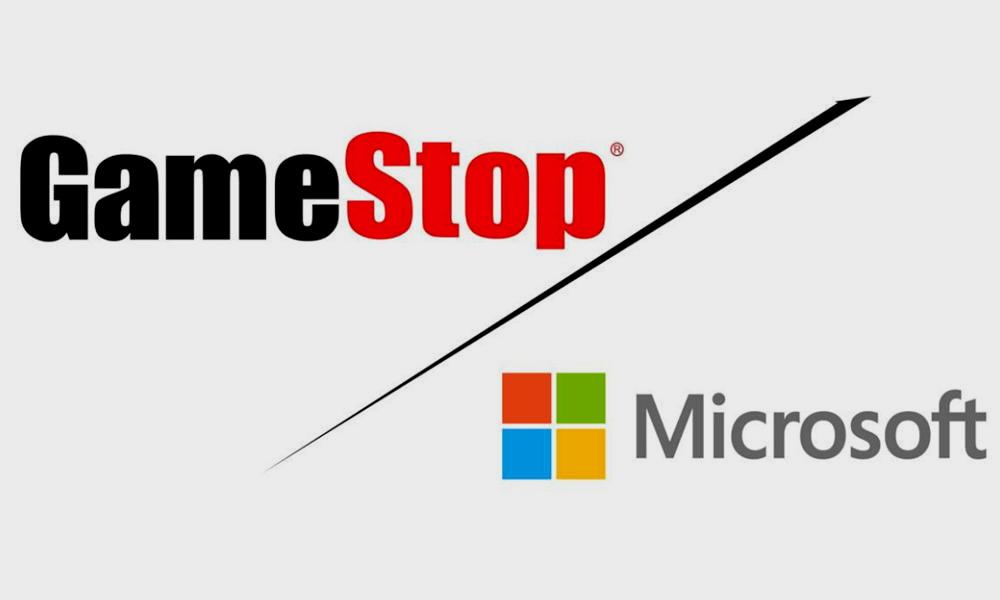 Microsoft y GameStop