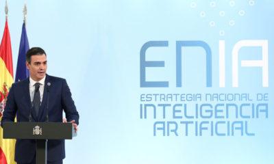 Pedro Sánchez presenta la Estrategia Nacional de Inteligencia Artificial, con 600 millones de inversión hasta 2023