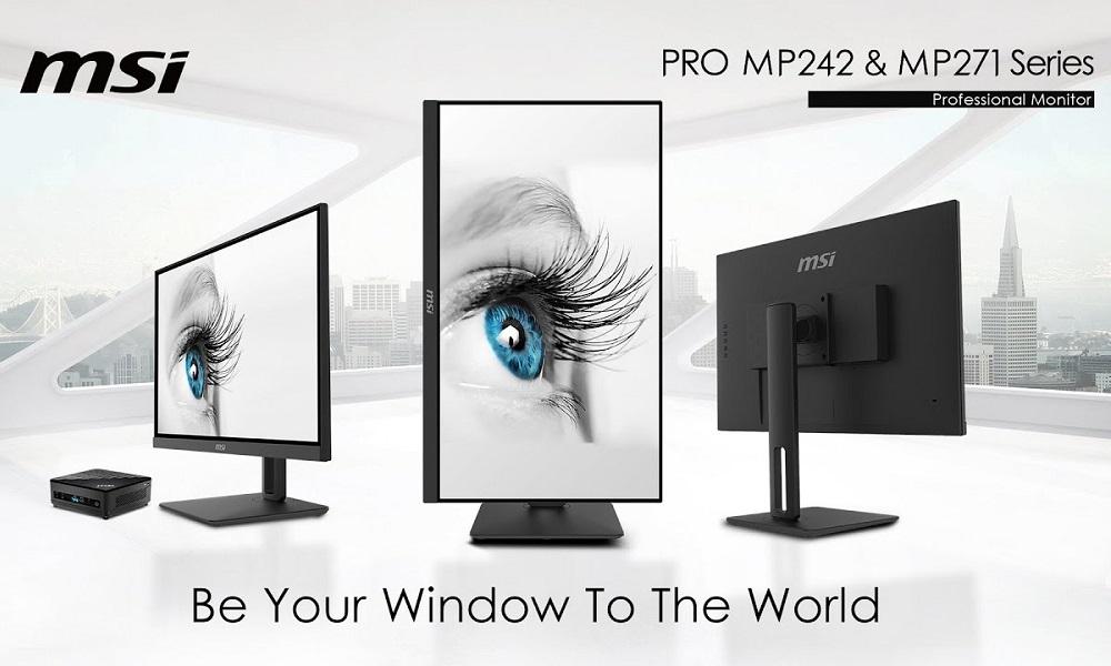 MSI monitores