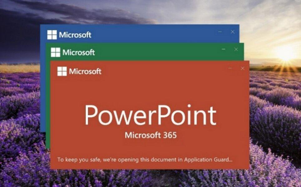 Application Guard para Office ya disponible para Microsoft 365