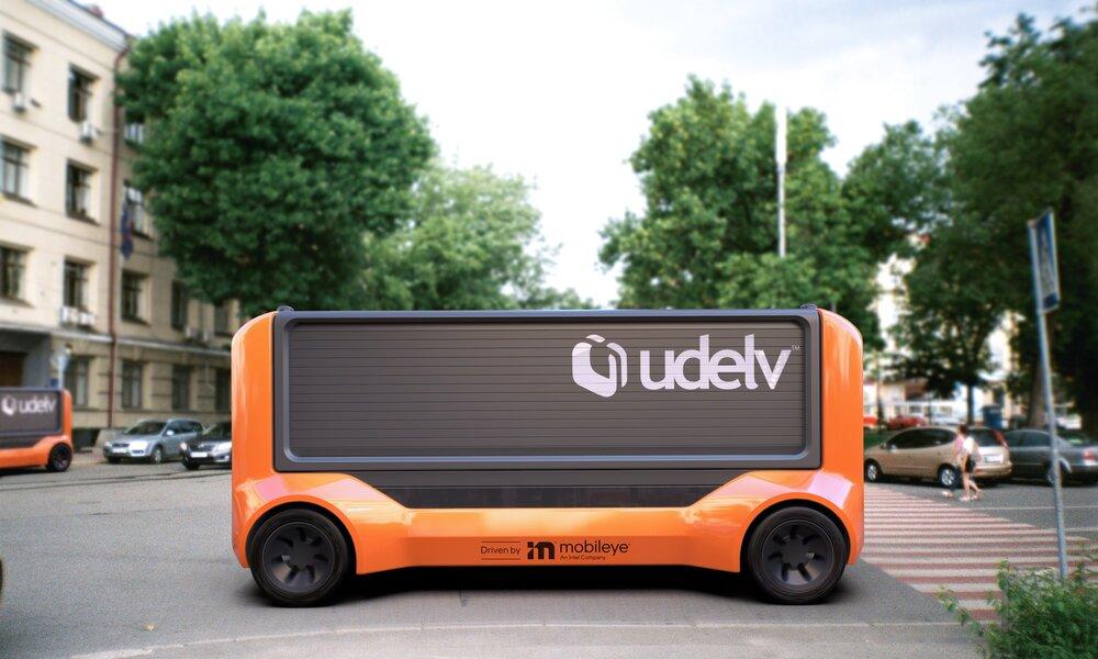 Mobileye pondrá en marcha un servicio de reparto con vehículos sin conductor en 2023