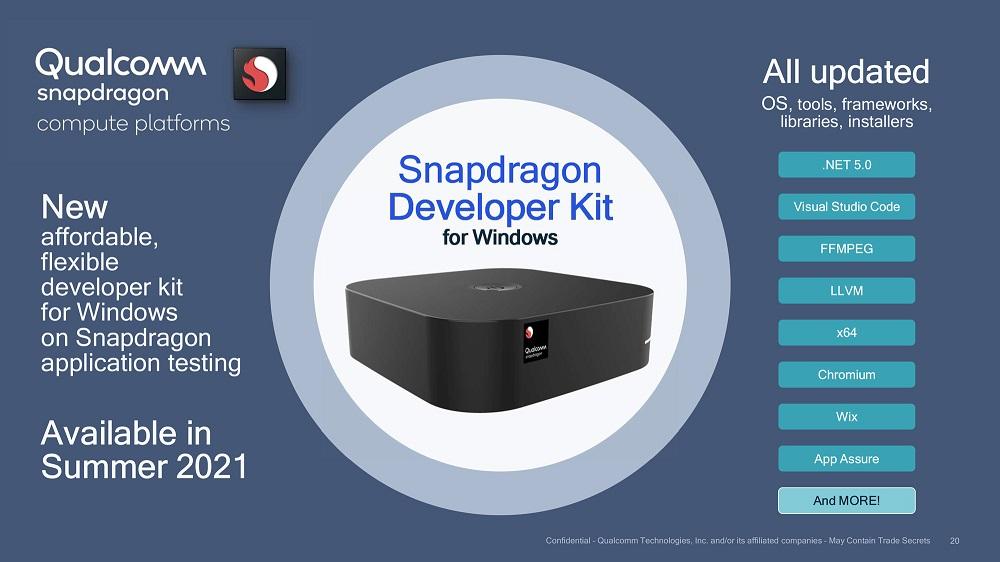 kit de desarrollo Snapdragon para Windows 10