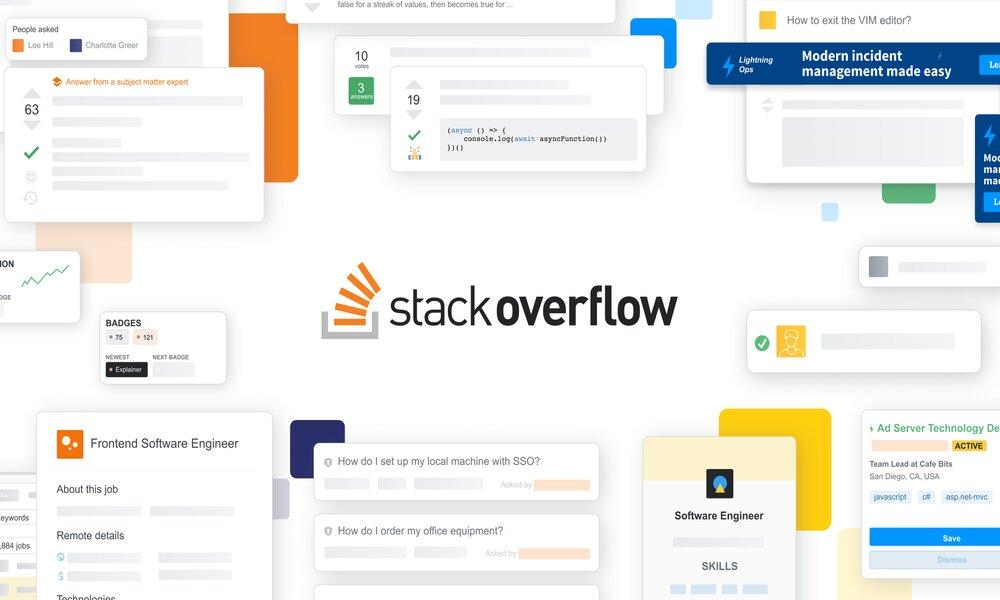 Prosus compra Stack Overflow por 1.800 millones de dólares