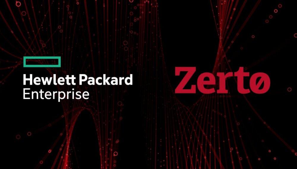HPE compra la plataforma de gestión y protección de datos en la nube Zerto