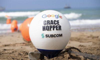 Google finaliza el despliegue del cable Grace Hopper, que une Estados Unidos con España y Reino Unido