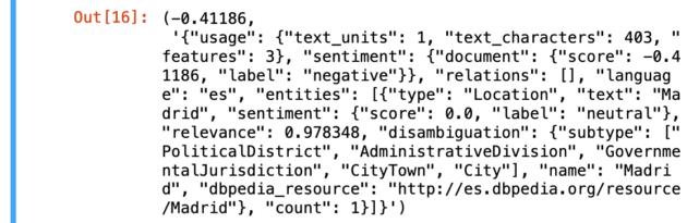 IA Watson code fragment