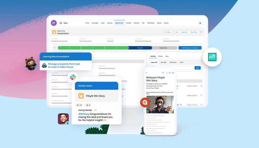 Salesforce da un impulso a Service Cloud con Slack y más Inteligencia Artificial